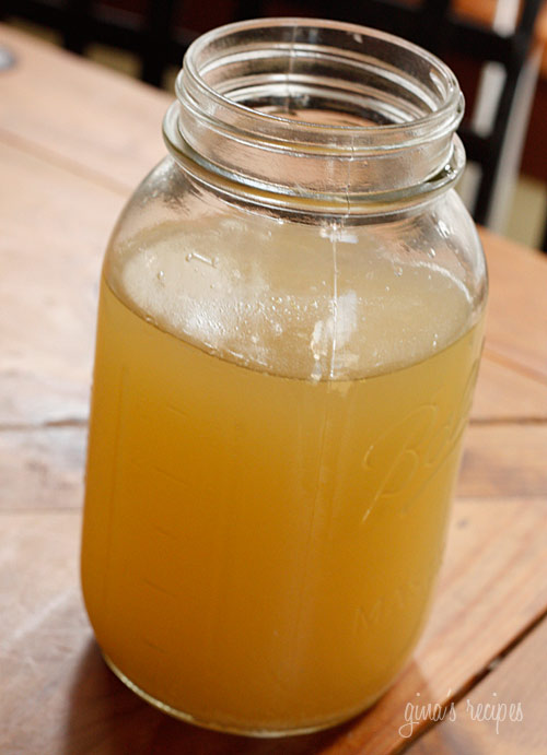 Homemade Chicken Broth From Your Crock Pot | Skinnytaste