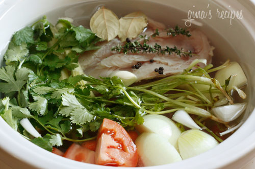 Homemade Chicken Broth From Your Crock Pot Skinnytaste