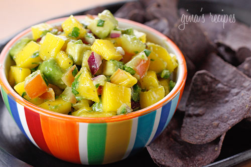 Avocado and Mango Salsa | Skinnytaste