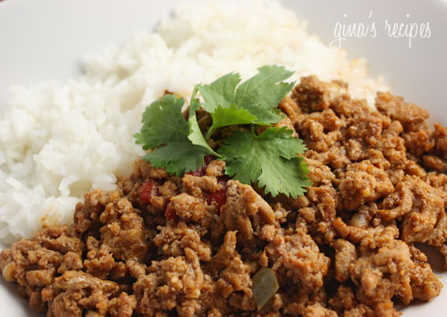 Turkey Picadillo is a lighter alternative to traditional Cuban beef ...