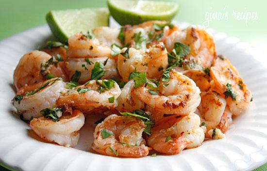 Cilantro Lime Shrimp | Skinnytaste