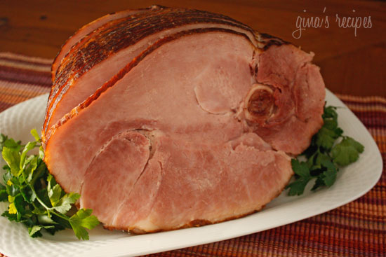 Spiral Honey Glazed Ham Calories