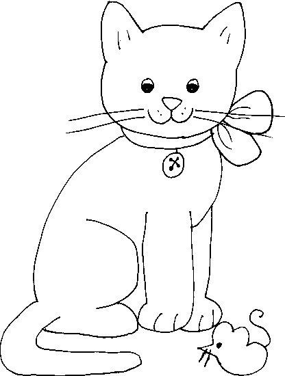 Dibujos de gatos para pintar - Dibujos para pintar camisetas infantiles ...