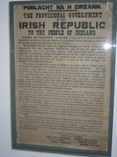 Proclamación República de Irlanda