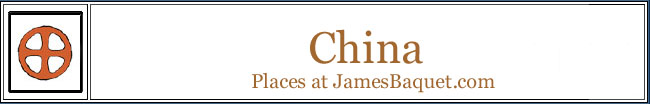 China: Places at JamesBaquet.com