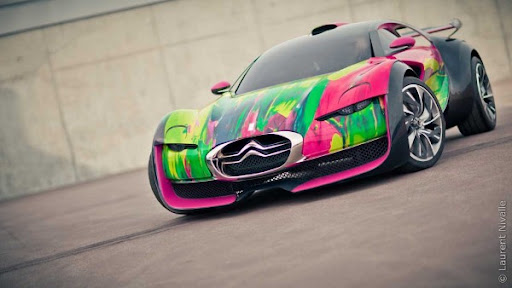 http://lh5.ggpht.com/_BkOsthGKM3U/TLcnN5FaVYI/AAAAAAAAAl8/uF8uKm7DiqM/Citroen-Survolt-Art-Car-by-Francoise-Nielly-1.jpg