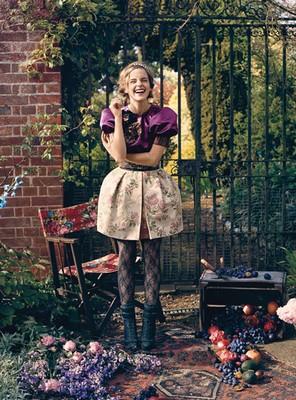 emma watson vogue teen 2009 august