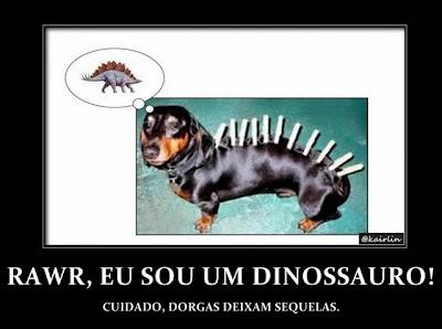 Cachorro Dinossauro