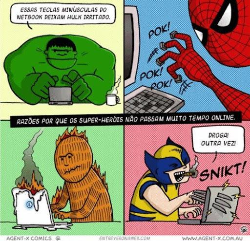 super heróis e pc
