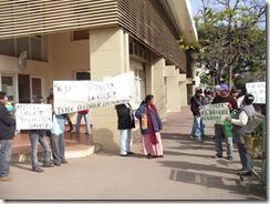 Protesta Tribunales