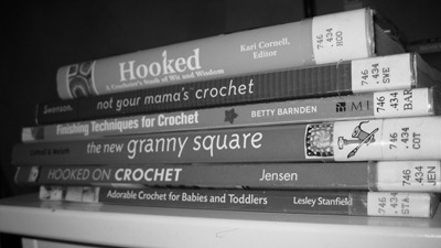 crochet library books