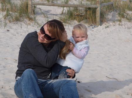 at the beach 6