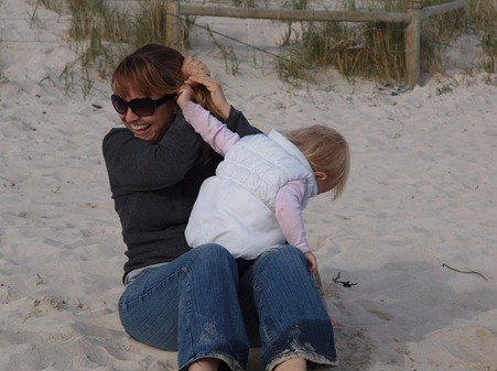 at the beach 8