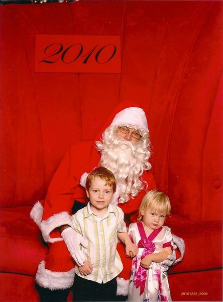 with Santa 20100001