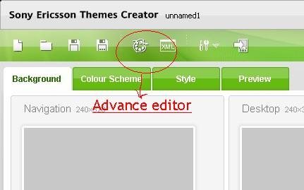 advanced editor