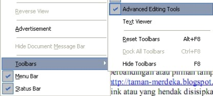 Toolbar Foxit2