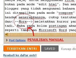 penulisan html page break