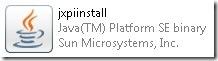Logo installer Java Runtime Environment