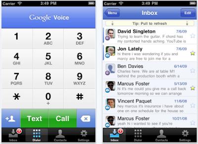 ปรแกรม Google Voice จากกูเกิลกลับเข้าสู่ App Store แล้ว