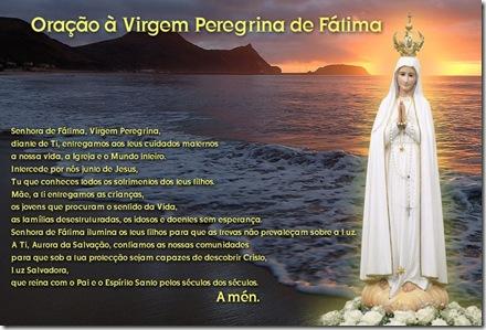 Ora%C3%A7%C3%A3o %C3%A0 Virgem Peregrina - Porto Santo