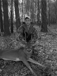 Jordan Owens with Buck that was later Seized by NC Game Wardens