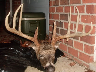 DR Harrison Team Antler Addiction took this buck in Davidson County NC