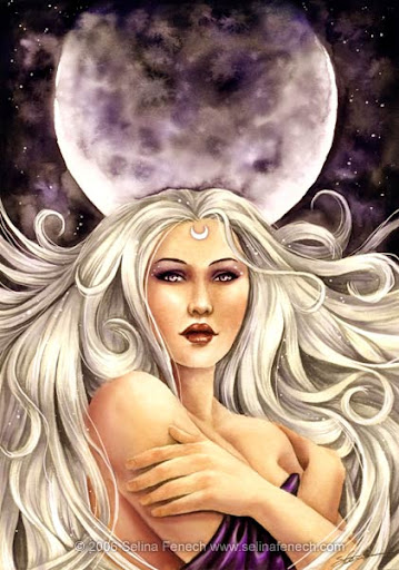 Artemis Moon Goddess Cover
