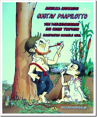 Plakat der Lesung 'Gustav Paapilotto' von Angelika Heidbrede © H. Brune