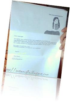 Surat Miss Bawell