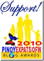 Support 2010 PinoyBlogAwards