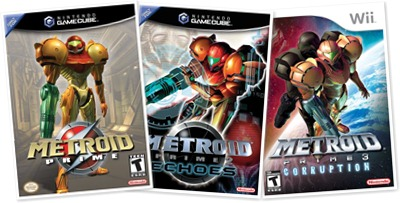 View Metroid Prime series