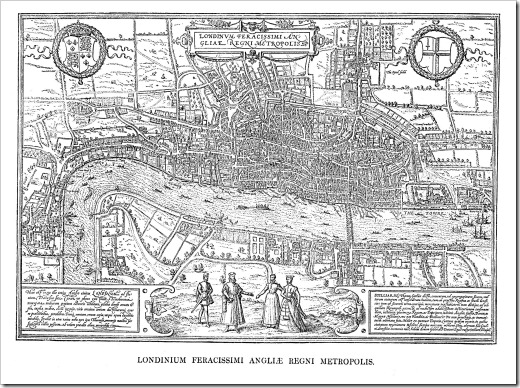 London_Hoefnagel's_Map_of_1572