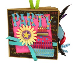 Birthday Party Scrapbook 1