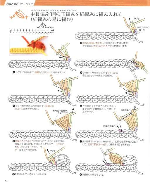 Những mũi MÓC (3) Crochet55