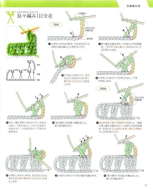 Những mũi MÓC (3) Crochet64