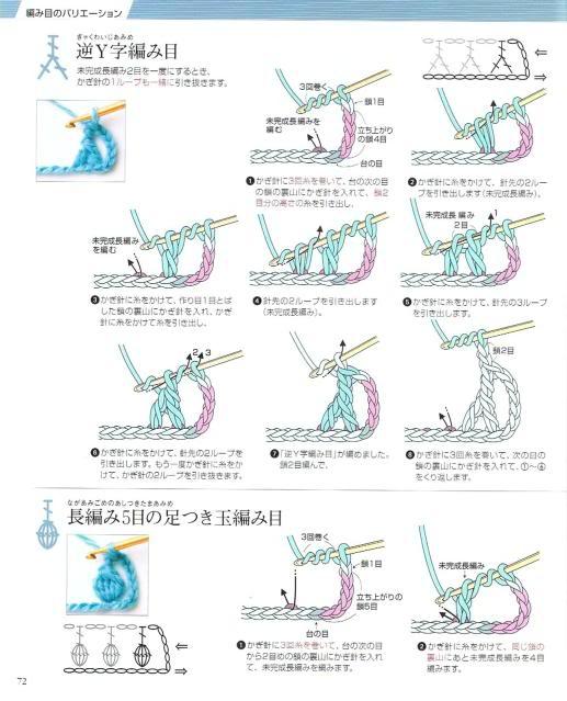 Những mũi MÓC (3) Crochet69
