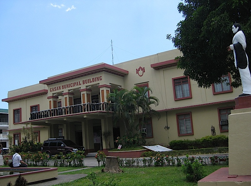 municipal hall of the town of Gasan in Marinduque province