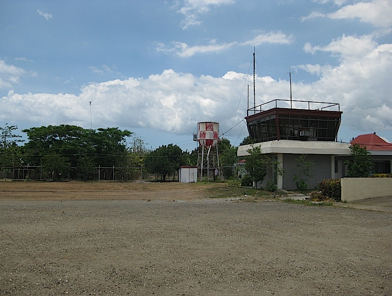 the two-story control tower of Marinduque provincial airport