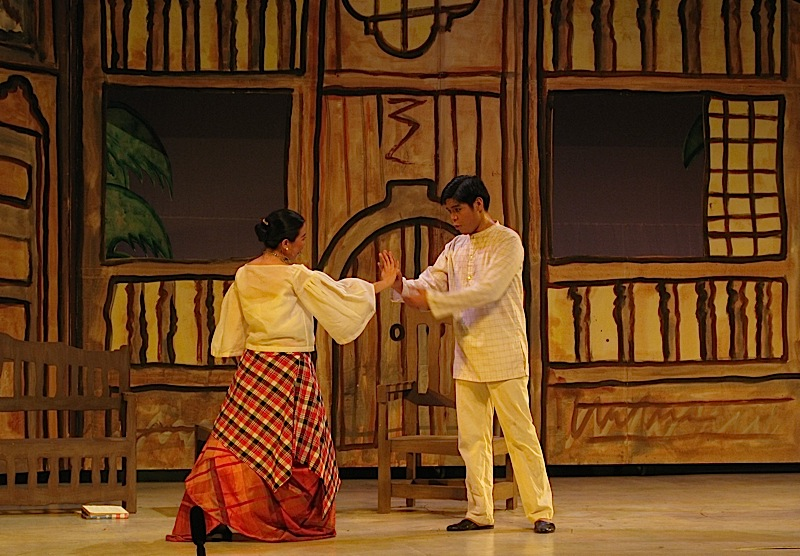 Ateneo de Manila University's production of Walang Sugat - Julia and Tenyong