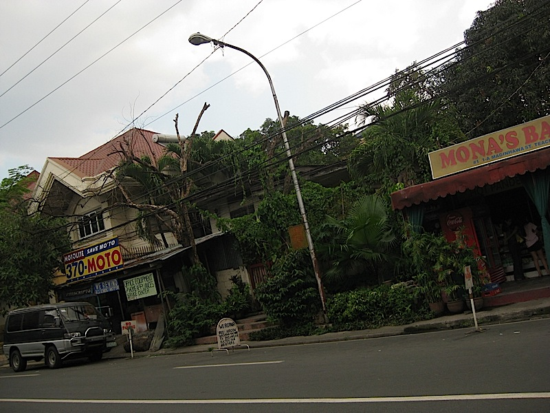 a small section of Maginhawa Street
