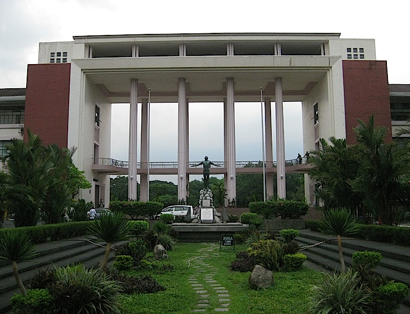 Quezon Hall of the University of the Philippines - Diliman