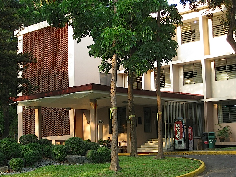 Cervini Hall in Ateneo de Manila Universitiy