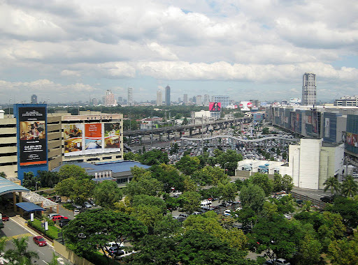 Shangri-la and Megamall car parks