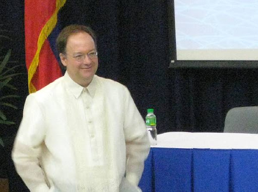 Professor John J. DeGioia, President of Georgetown University in Washington, D.C.