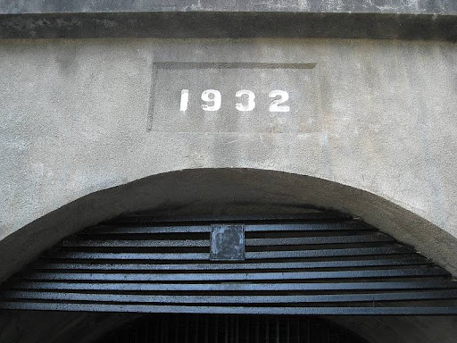 entrance to Malinta Tunnel in Corregidor Island