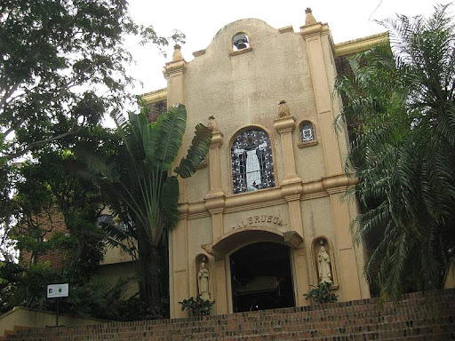 facade of the main building of Caleruega in Batangas