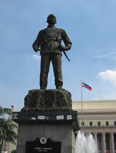 monument of Andres Bonifacio in Liwasang Bonifacio