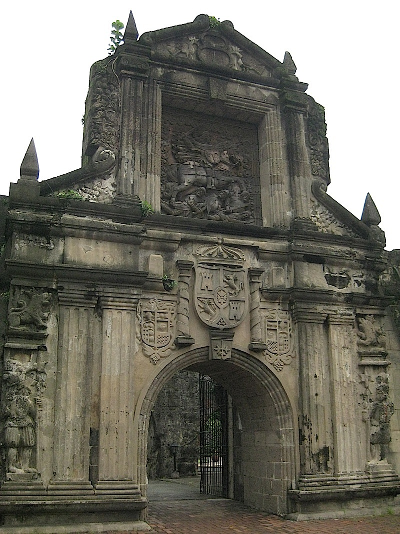 main entrance of Fort Santiago in Intramuros