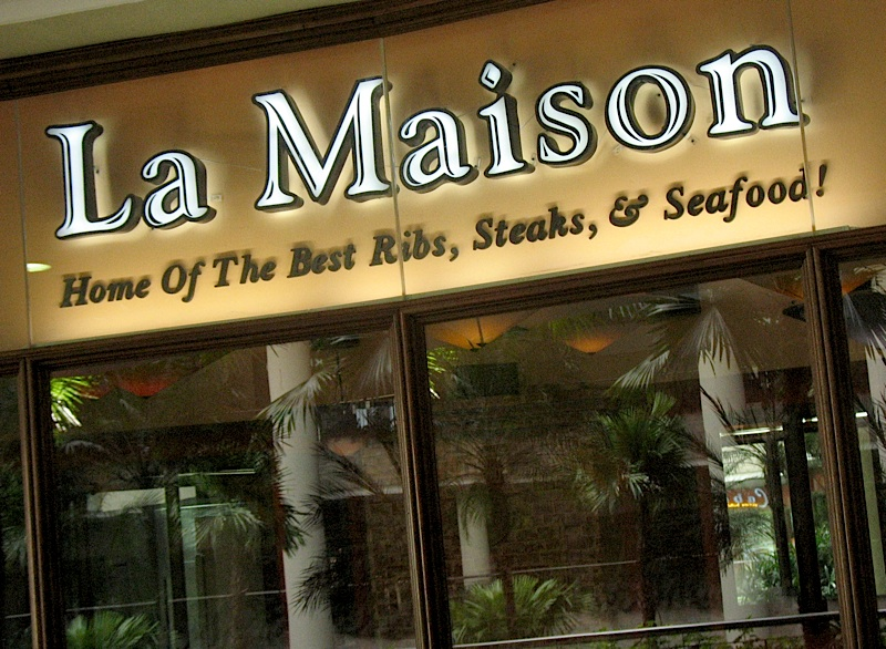 La Maison steakhouse