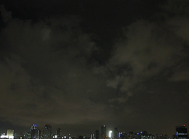 Ortigas Center skyline at night